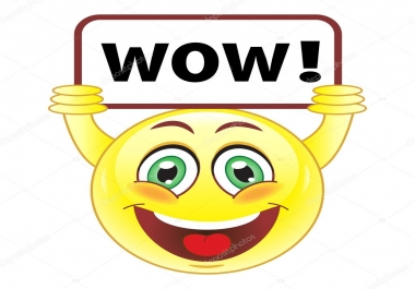provide 500 Facebook Emoticons post likes [WOW] instant.