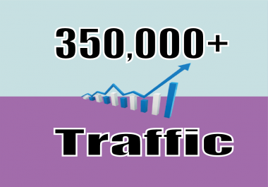 Give you 350,000 Real/Human/Unique Visitors for Google adsense