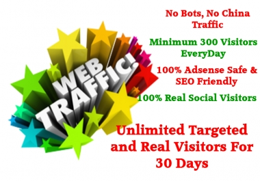 drive Real visitors to any kind of your website 30000 visitors for 30 days