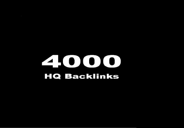 do 4000 Forum profiles posting backlinks High PR Backlinks and rank higher on Google.