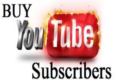Provide you 400+Non Drop Youtube Subcribers, real and active only for