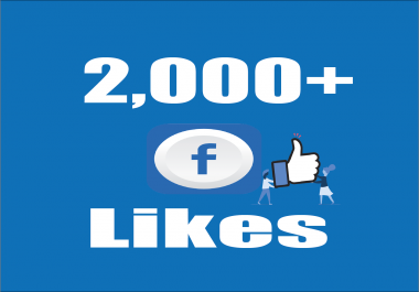 Give you Instant Fast 2,000 Facebook Photo,Post Likes