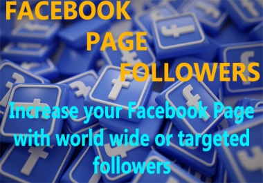 increase your facebook page followers