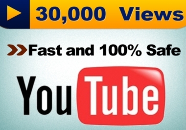 Give You High Quality 50,000+YOU TUBE views