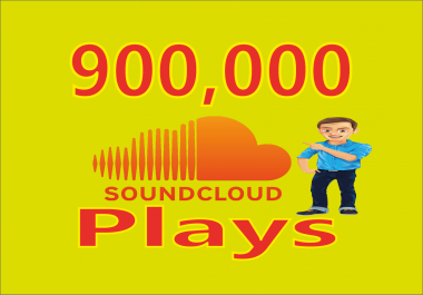 Give You Real Soundcloud 900k Music Tracks Plays