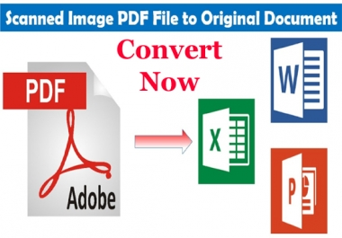 convert your pdf file to any other files