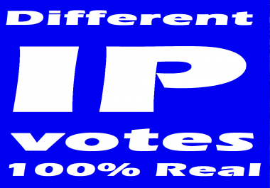 provide 100 IP Votes In Your Contest