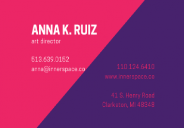 design creative BUSINESS CARD for your business in 24 hours