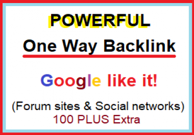 create 100+ Mix Profile Backlinks (Forum and Social Network)