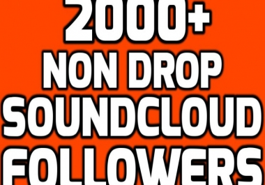 Add 2000+ SoundCloud Followers Real and Non Drop
