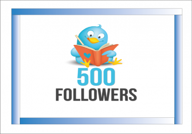add 500+ High Quality Twitter followers