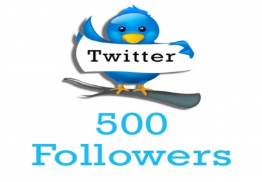 Add 500+ Twitter Followers Real and Lifetime Guaranteed