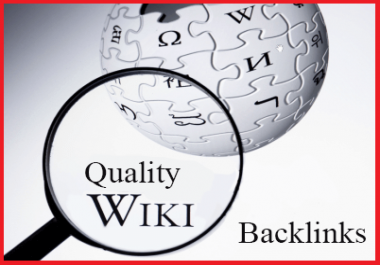 create 100+ HQ Contextual WIKI Backlink (mix - Profiles and Articles)