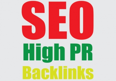 Build 2,500 High Quality Backlinks For SEO