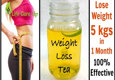 Show you how to loss weight in a month