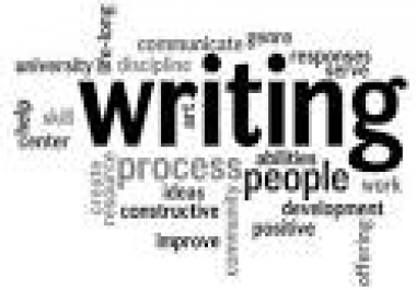 write an article or blog, up to 350-500 words for you on any topic for $5.