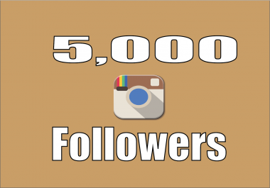 Add 5,000 Instagram fast Followers