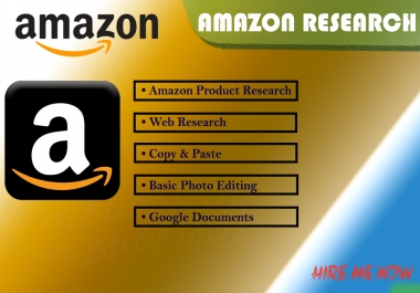 Do Amazon Market Research, Product Research