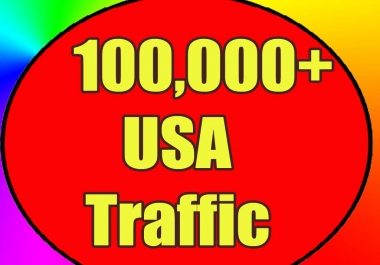 Give you 100,000 Real/Human/Unique Visitors safely