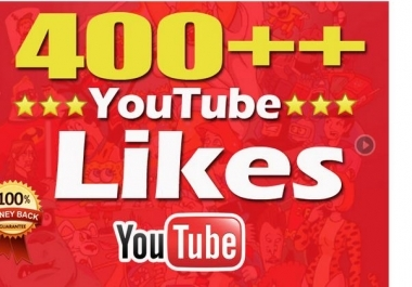 Get 400 YoTube Real Likes Instant Start