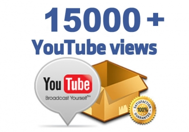 Provide 15000+ High Quality Views instant Start