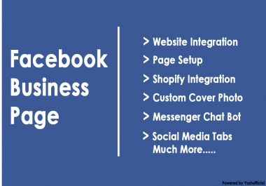 create and customize your professional facebook and other sm business pages within 24hrs