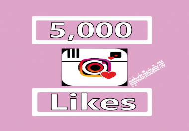 Add 5,000 Instagram Photo/Post Likes