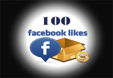 add 100 Facebook Fan page Likes