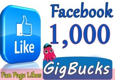 Provide you 1,000 Facebook Likes