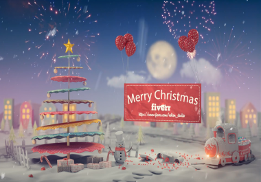 create  3 Of 30 Top Best Christmas Videos Animation In 24hrs
