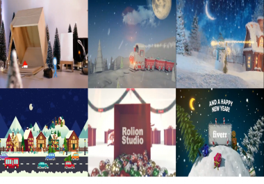 create  3 out of 30 Top Best Christmas Videos Animation In 24hrs