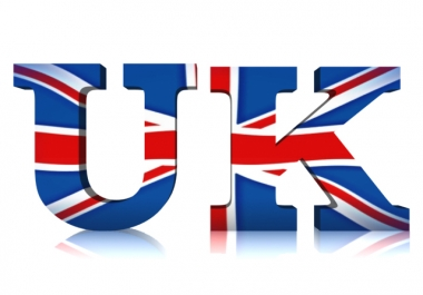 provide 30,000 targeted organic traffic from UK