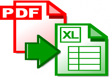 convert your PDF documents to word, excel or jpeg format
