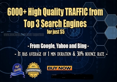 Drive 50000 usa Website traffic for ur buisnes