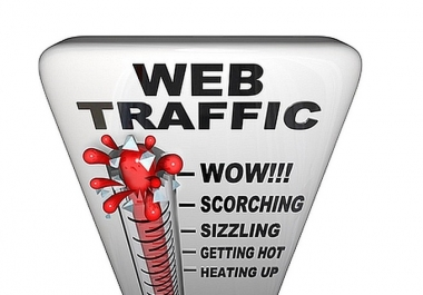 send 2500 web visitors targeted organic traffic from South America for