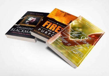 Design Your Ebook Covers, Interior Layout, Book And Album Cover