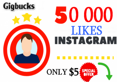 provide 50 000+ HQ Instagram LIKES ! CHEAP ! 100% SAFE