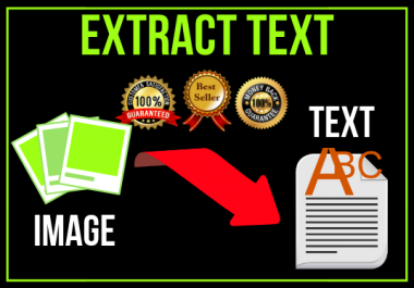 extract text from images or convert images into text and make it editable