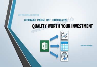 develop cheap and userfriendly sheets and charts worth your investment