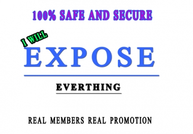 expose your link to 1000000 active and real people