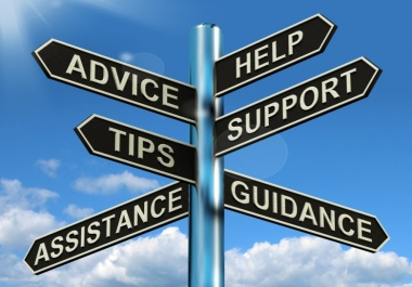 Listen to an issue and Give advice on any subject