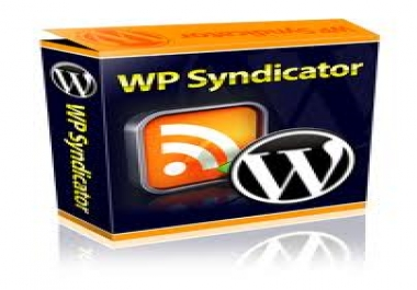 send you WP Syndicator Wordpress Plugin