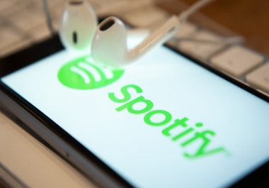 Give you 8000+ Spotify Custom Playlist Plays will be making your account popular