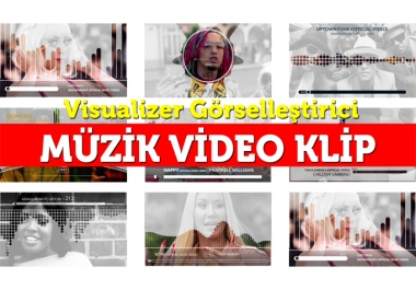 make music visualizer video for your song