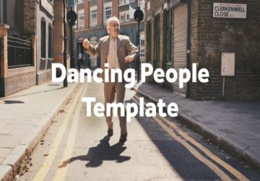 customize this dancing promotional video for your business or service
