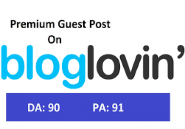 do Bloglovin Permanent guest post