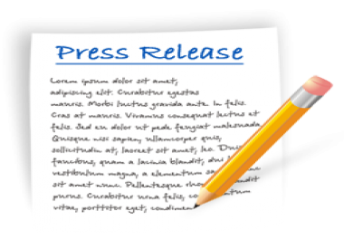 write a SEO optimized press release for your business, website, event or product