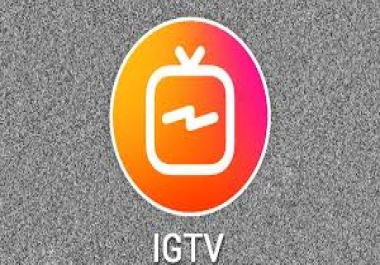 provide you 15k IGTV Views