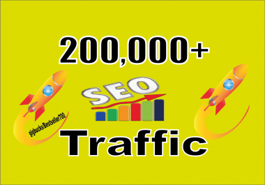 Give you 200.000 real Worldwide website traffic visitors from all Countries