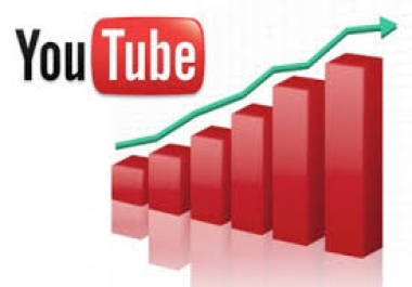 Give You High Quality 500+YOU TUBE views